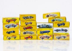 Atlas Edition Dinky Toy Competition & Racing Cars, including 1425e Matra 630, 23d Auto Union, 506