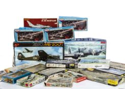 1:72 Aircraft Kits, by various makers including Airfix 04011-2, Matchbox PK-1 (2), PK-35, PK-25,