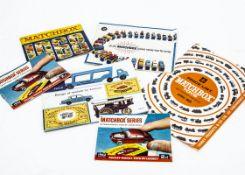 Matchbox Ephemera, 1968 Price List, catalogues for 1959, 1960, 1962 (2), 1968, G-VG (6)