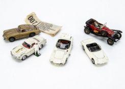 Corgi TV & Film Toys, 261 James Bond's Aston Martin, with secret instructions envelope containing