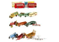 Dinky & Corgi Toys, Dinky Toys 289 Routemaster Bus, in original box, 29f Observation Coach, 29e