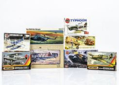 "Airfix, FROG & Matchbox Kits, Airfix 1:144 H.P 42 ""Heracles"", OO Scale Emergency Set, 1:72 Hawker"