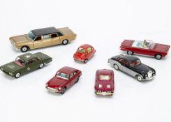 Corgi Toy Cars, 358 Oldsmobile H.Q Staff Car, 233 Heinkel Economy Car, 310 Chevrolet Corvette