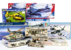 "Military & Aircraft Kits, 1:48 Trumpeter No.02814 Fw200C-4 ""Condor"", Italeri No.2656, No.2637,"