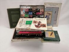 A small quantity of books on collecting objet d'art, to include 'Toward and Art History of