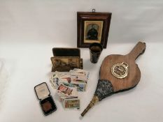 A small group of late 19th and early 20th Century collectables, to include a Victorian Caledonian