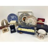 A collection of Lord Nelson and nautical related collectables, including a Royal Worcester Nelson