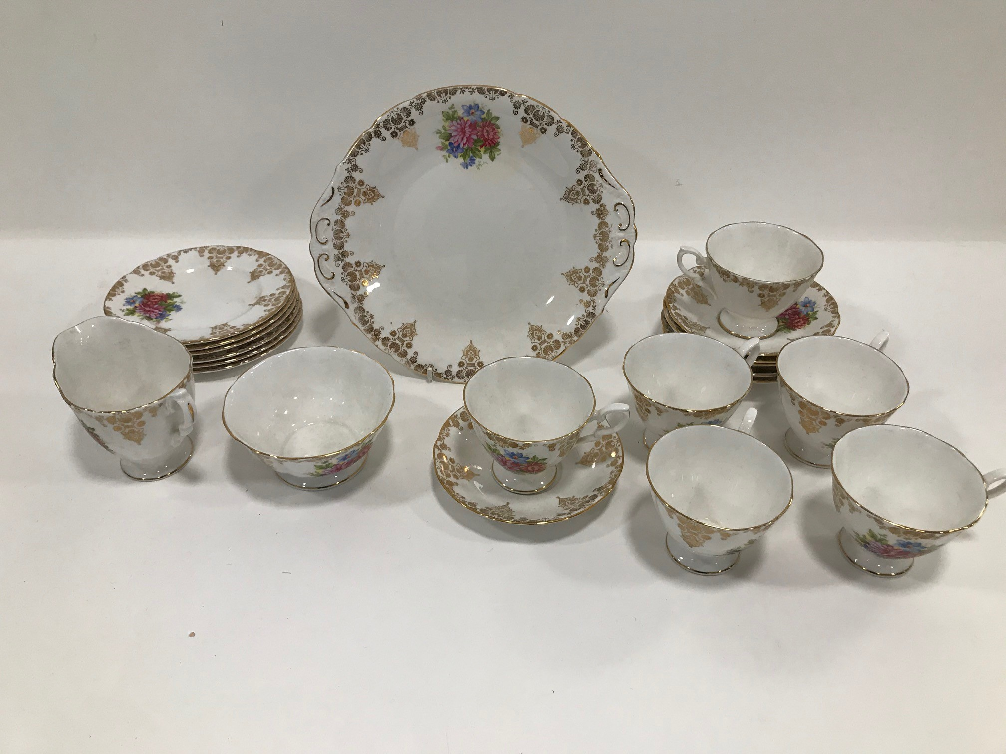 A Paragon Fine Bone China tea set for six