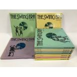 A set of ten The Swing Era vinyl album box sets
