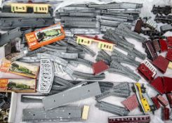 Unboxed Lone Star Locos '000' N gauge push-along Trains, including two 'Jinty' 0-6-0T locomotives