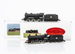 Union Mills British Outline Steam Locomotives and Tenders, two boxed examples BR ex LNWR Class G2