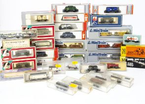 N Gauge Continental Goods Wagons, examples by Lima includes two gravel wagon sets 320648, 320650,