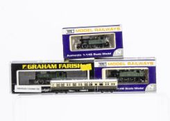 Dapol N gauge GWR Tank Locomotives and other items, a 45xx class 2-6-2T no 5529, and 0-4-2T no 1433,
