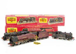 Boxed Hornby-Dublo 00 gauge 2-rail Steam Locomotives, ref 2226 'City of London' no 46245, in BR