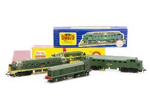 Boxed Hornby-Dublo 00 gauge 2-rail Diesel Locomotives, ref 2230 class 1 Bo-Bo no D8017, G, some