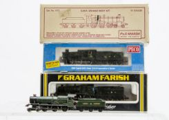 Kit-bodied or Modified N gauge GWR Locomotives and Tenders by various makers, a Peco Collett 0-6-0