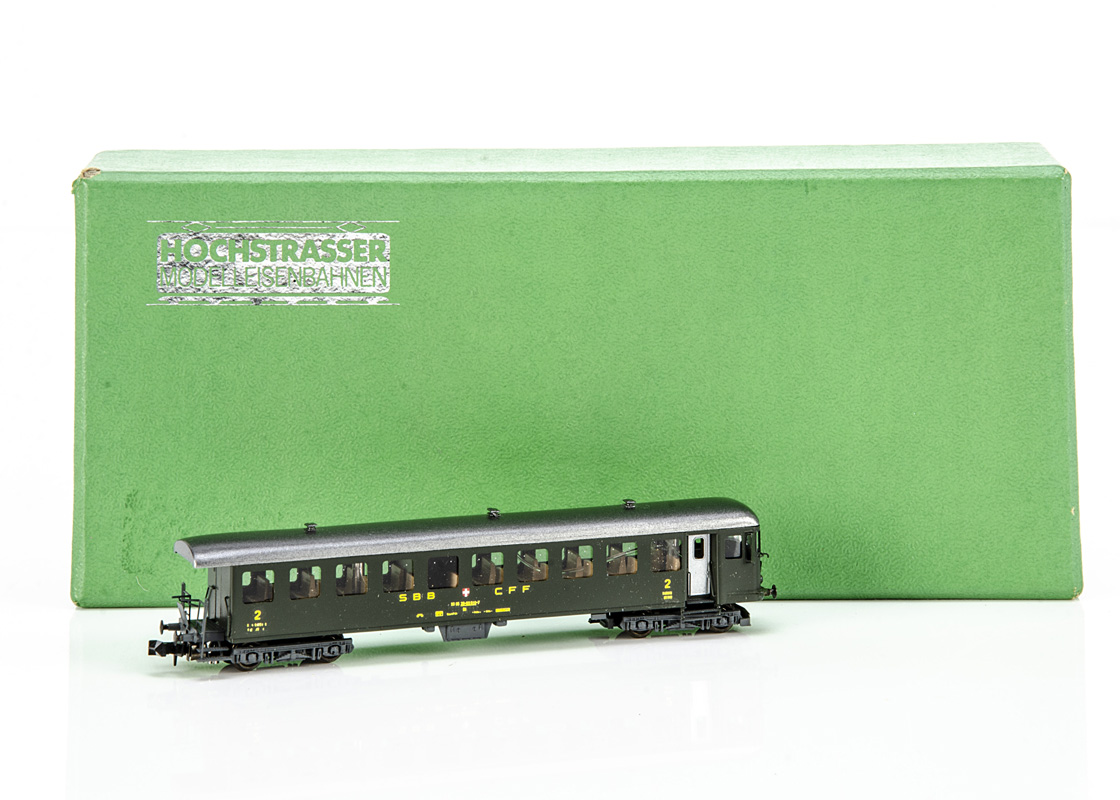 Continental N Gauge Hochstrassler Electric Control Car, a boxed 444-910 powered control car No 910