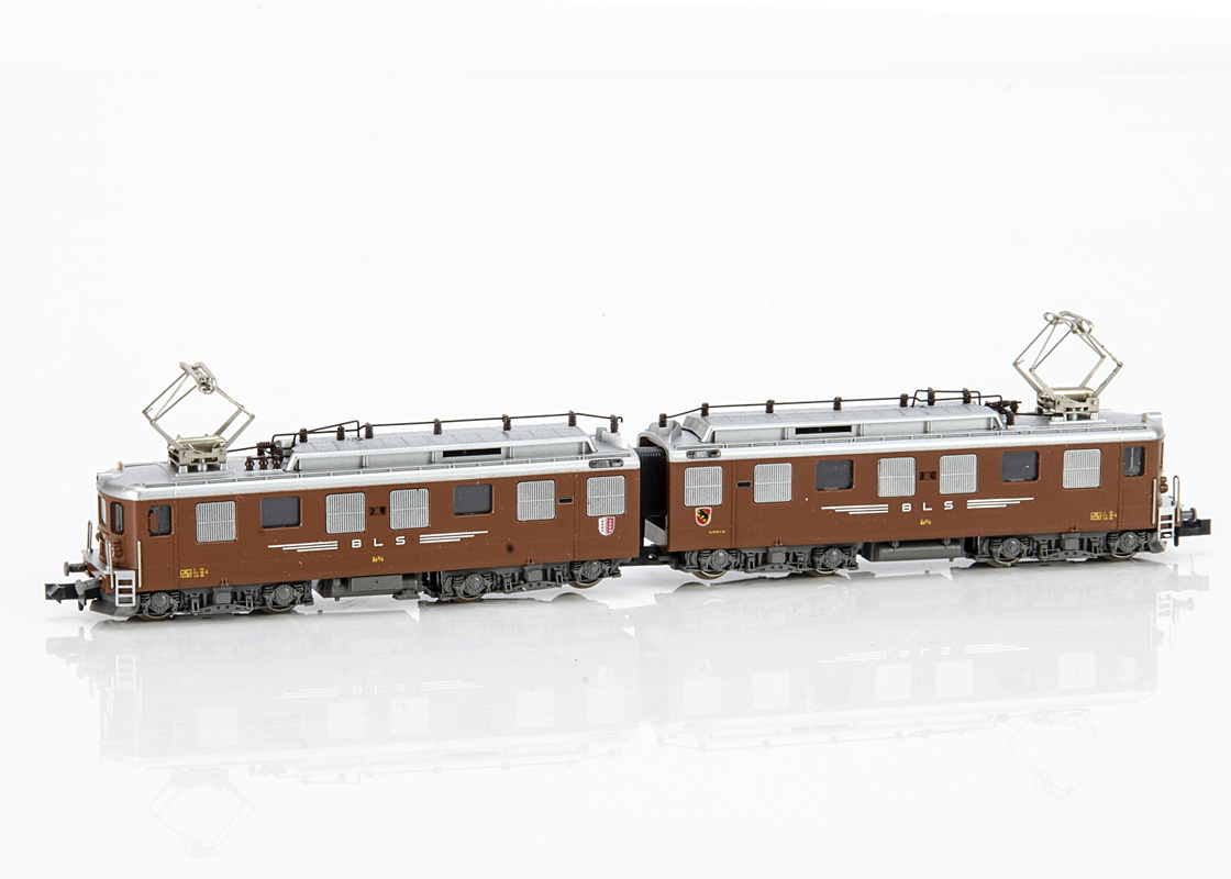 Continental N Gauge Kato for Hobbytrain Electric Locomotive, a boxed 11881 Ae 8/8 of the BLS in