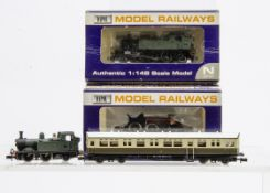 Dapol N gauge GWR Tank Locomotives and other items, a 45xx class 2-6-2T no 4567, boxed, and