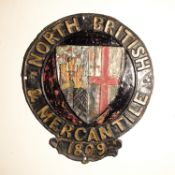 North British and Mercantile Insurance Company, 1862-1959, W102A, copper, F-G, some original