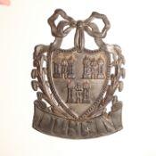 Dublin Insurance Company Fire Mark, 1782-1817, W21B, lead, G, polished