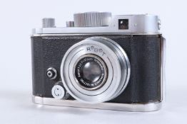 A Robot II Camera, serial no B 80894, spring motor drive working, shutter working on fast speeds,