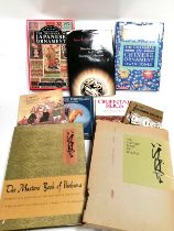 A selection of reference books on the subject of Asian art, to include a mid 20th Century