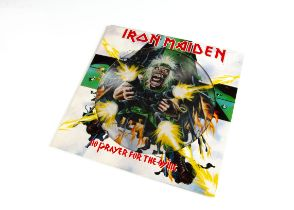 Iron Maiden Picture Disc, No Prayer For The Dying Picture Disc Album released 1990 on EMI (EMDPD