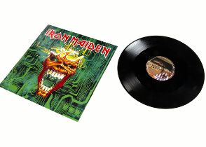 """Iron Maiden 12"""" Single, Virus 12"""" Single released 1996 on EMI (12 EMP 443) - In Poster Sleeve and"""
