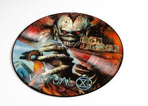 Iron Maiden Picture Disc, Virtual XI - Picture Disc LP - Excellent condition