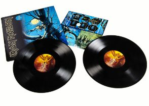 Iron Maiden LP, Fear Of The Dark Double Album - Original UK release 1992 on EMI (EMD 1032) -