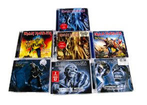 Iron Maiden CD Singles, forty-four CD Singles comprising Different World (DVD single - seven