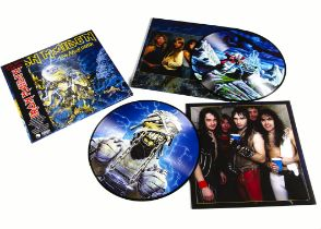 Iron Maiden Picture Disc, Live After Death Double album Picture Disc released 2013 on EMI (729 521 )