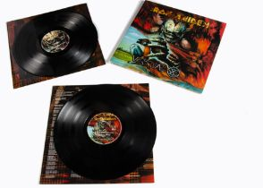 Iron Maiden LP, Virtual XI Double Album - UK Release 1998 on EMI (493 9151) - Gatefold Sleeve with