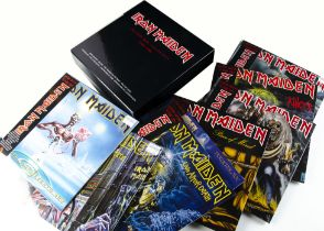 Iron Maiden Box Set, Picture Disc Collection 1980-1988 - eight Picture Disc albums in the box set