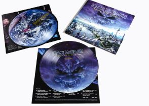 Iron Maiden LP, Brave New World Double Picture Disc Album - UK Release 2000 on EMI (526 6051) -