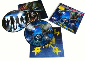 Iron Maiden Picture Disc LP, The Final Frontier Double Picture Disc Album released 2010 on EMI (