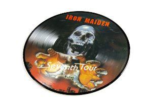 Iron Maiden Picture Disc, Seventh Tour - Picture Disc LP - Excellent condition