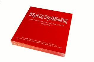 Iron Maiden Box Set, The Complete Albums Collection 1980-1988 - three album box set (Iron Maiden,