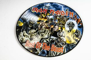 Iron Maiden Picture Disc LP, Best of The Beast Picture Disc LP - Excellent condition