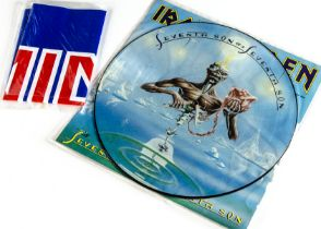 Iron Maiden Picture Disc, Seventh Son of a Seventh Son - UK Picture Disc LP released 1988 on EMI (