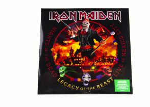 Iron Maiden LP, Nights of The Dead - Legacy of the Beast Triple Album - Coloured Vinyl release