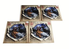 Iron Maiden Picture Discs, Empire of the Clouds Picture Disc LP - four copies of the UK 2016 release