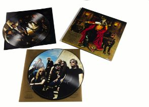 Iron Maiden Picture Disc LP, Edward The Great Double Picture Disc Album - UK Release 2002 on EMI (
