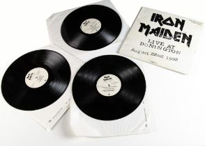 Iron Maiden LP, Live At Donnington - Triple Album released 1993 on EMI (DON 1) - numbered 6886 -