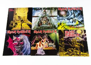 """Iron Maiden 7"""" Singles, nineteen different title 7"""" singles from the 2014 Reissue series"""
