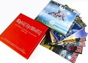 Iron Maiden Box Set, The Complete Albums Collection 1980-1988 - all eight albums in the box set