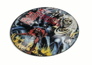 Iron Maiden Picture Disc, The Number of the Beast - UK Picture Disc LP released 1982 on EMI (EMCP