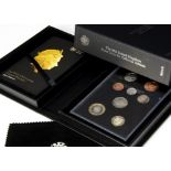 Two modern Royal Mint UK proof coin sets, one 2015, the other 2016 Collector Edition (2)