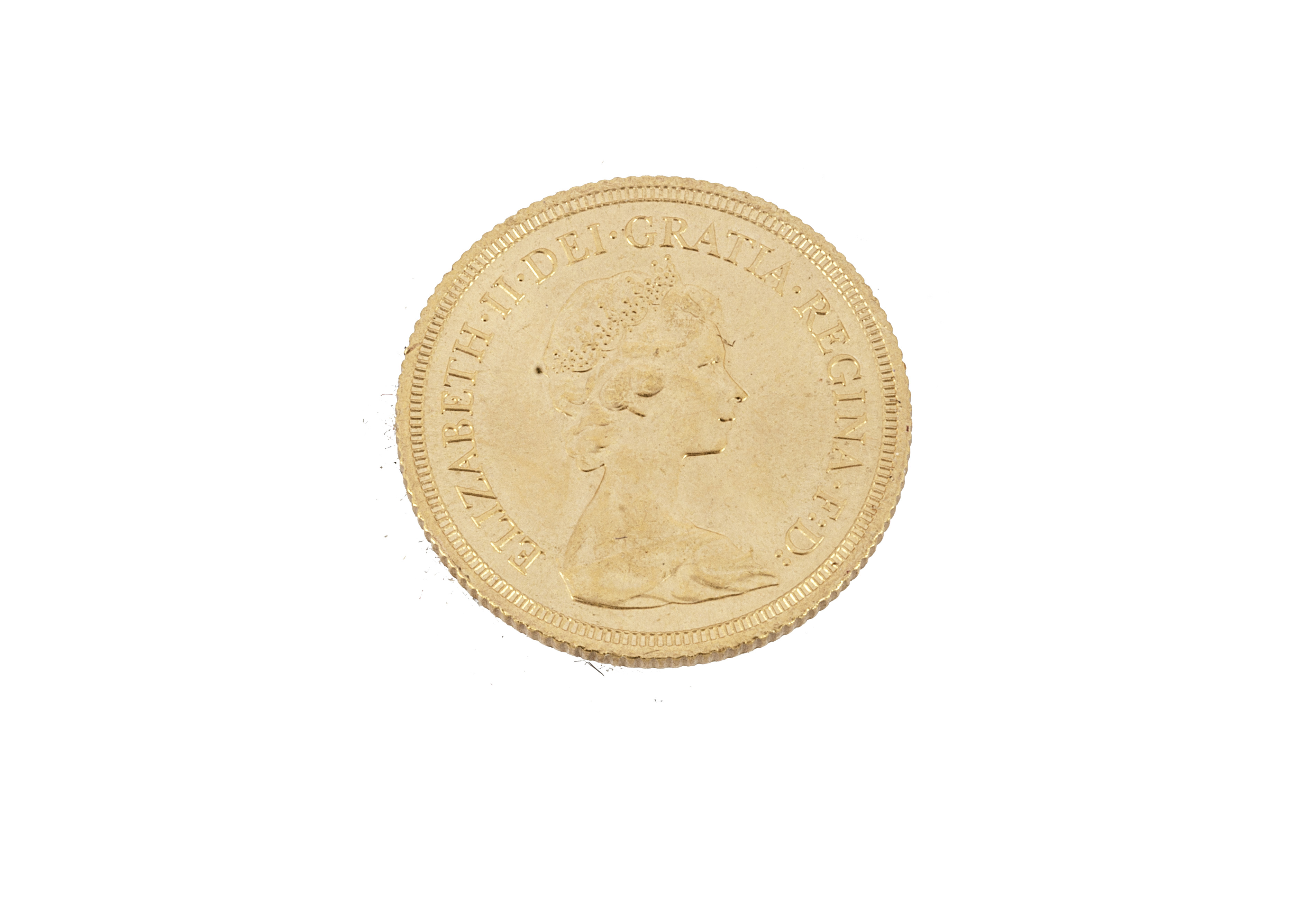 An Elizabeth II full gold sovereign, dated 1980, EF - Image 2 of 2